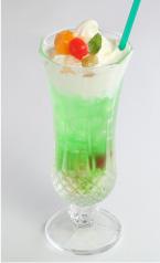 フルーツクリームソーダ