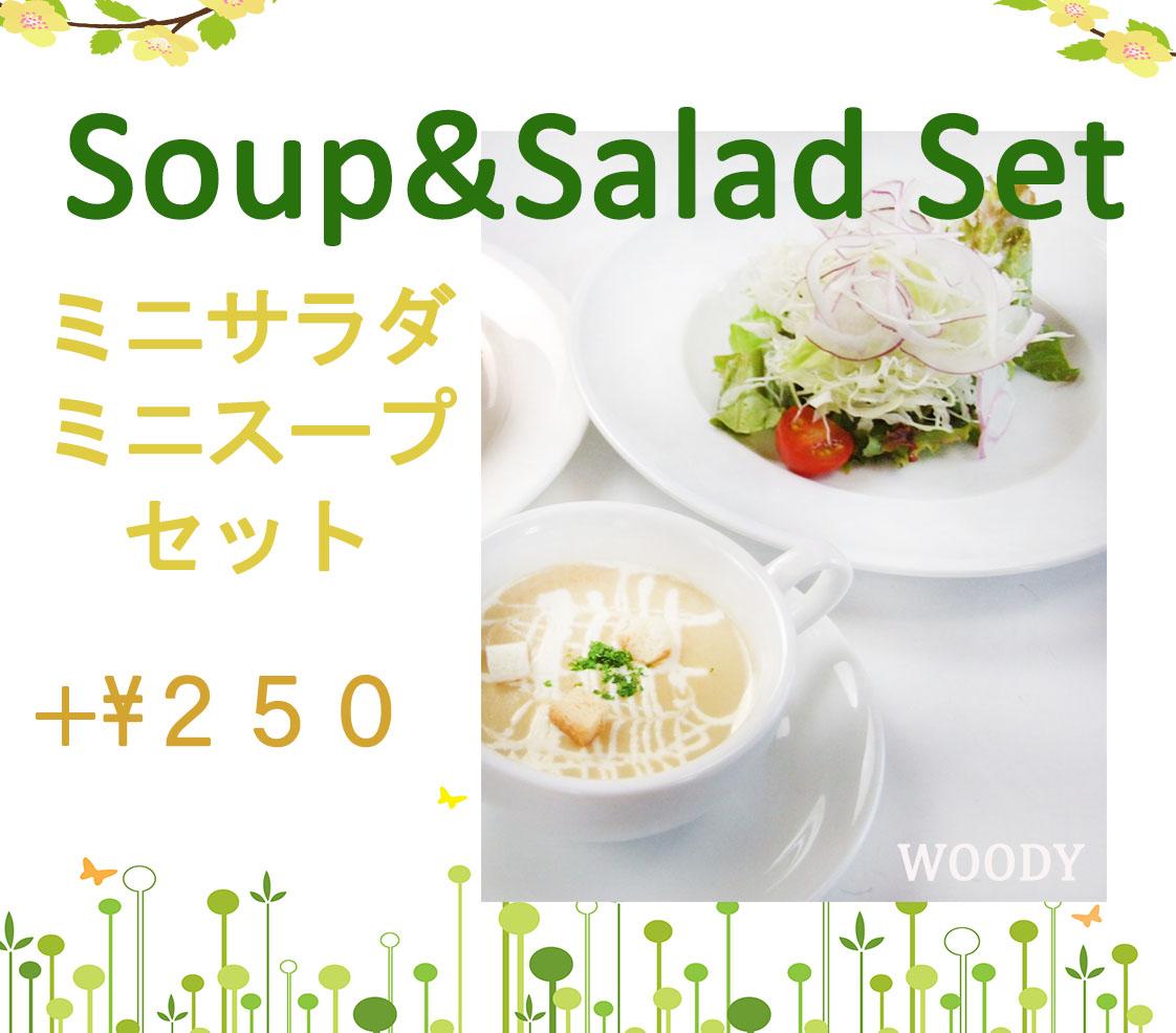 スープサラダセット